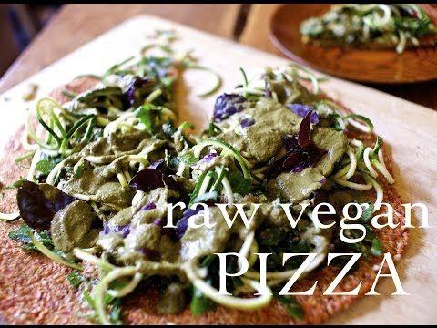 Raw vegan pizza shokuiku australia raw pizza pinterest raw vegan pizza shokuiku australia forumfinder Choice Image