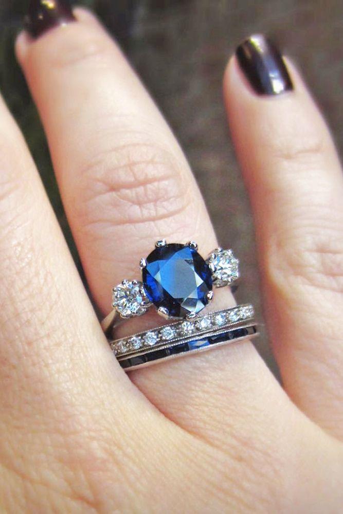 30 Vivid Sapphire Engagement Rings Wedding Forward Sapphire Engagement Ring Blue Engagement Rings Sapphire Blue Sapphire Wedding Ring
