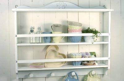 Küchenregal weiß