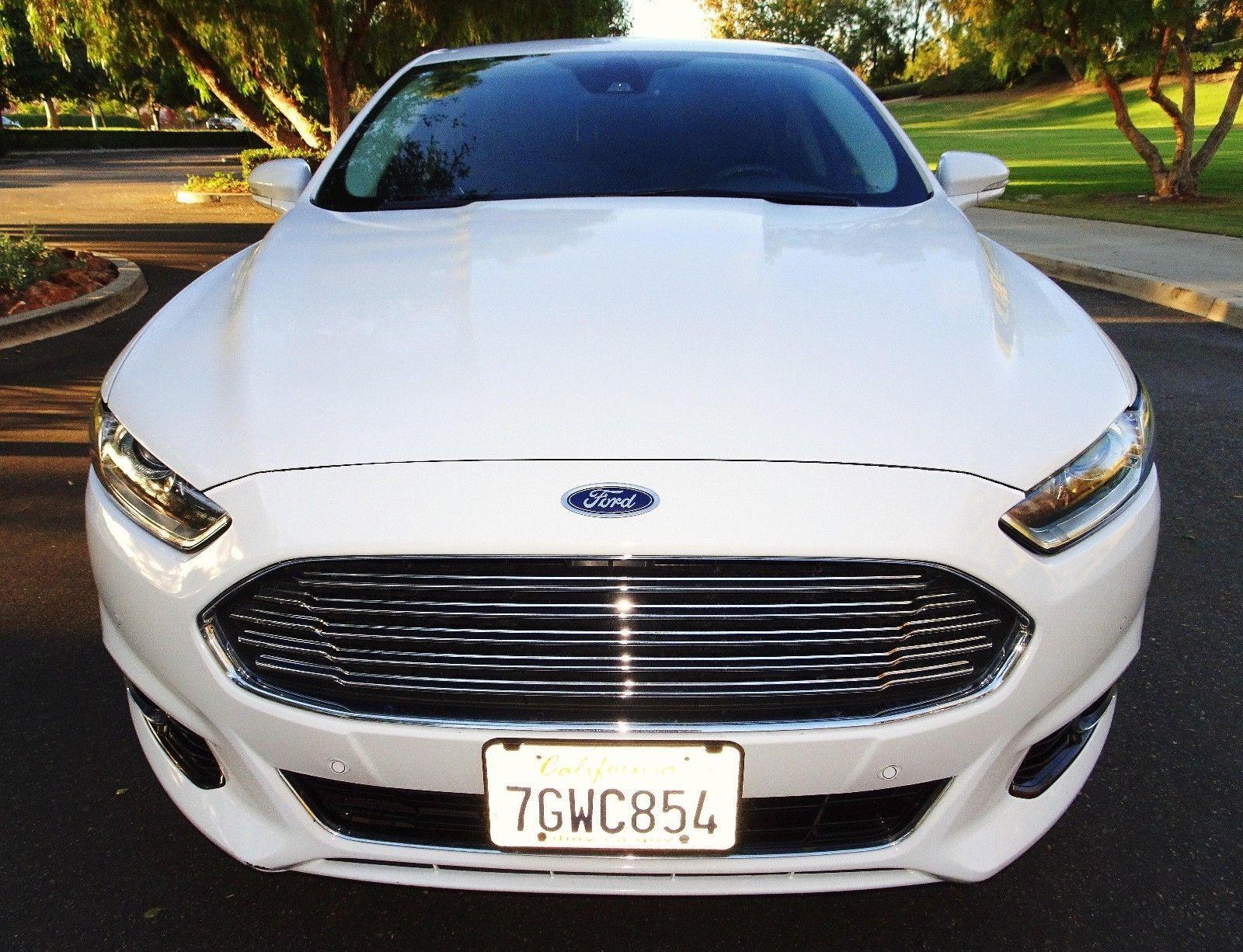 2015 Ford Fusion Energi Titanium Hybrids for sale
