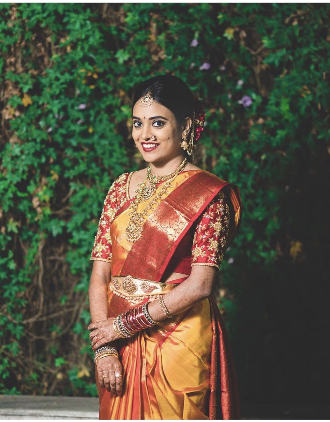 Royal South Indian bride | Brides | Pinterest
