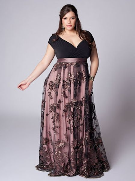 cutethickgirls elegant plus size cocktail dresses (04