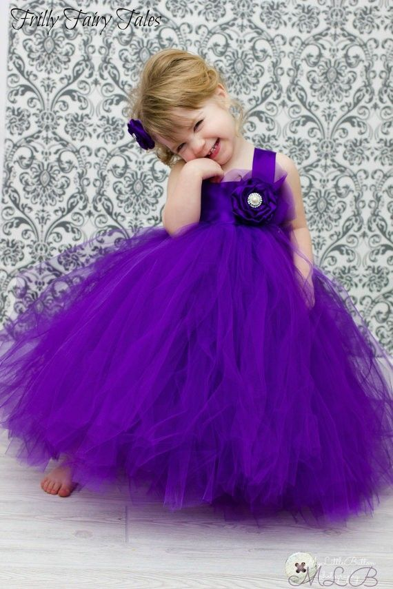 2015-purple-flower-girl-dress-ball-gown-cute-toddler-pageant-dress ...