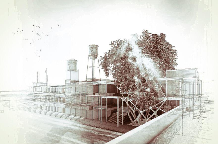 Abschlussarbeit: Growing Architecture , Hannes Hilpold, Technische Universität Wien - Campus Masters | BauNetz.de