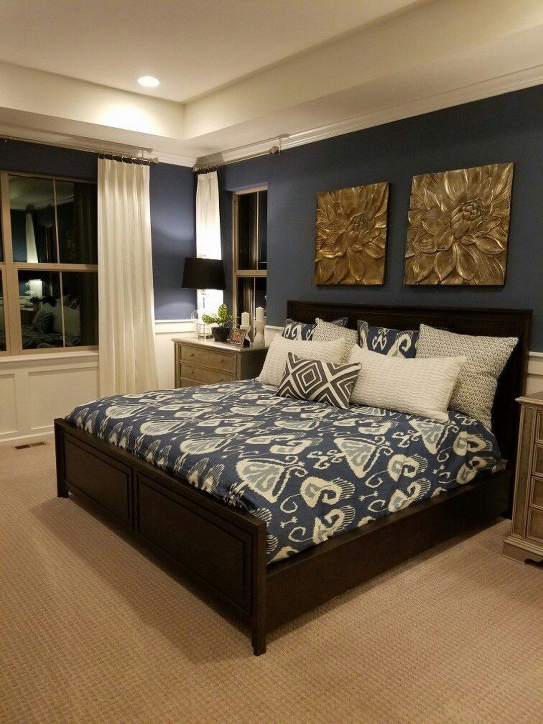 40 Gorgeous Small Master Bedroom Ideas In 2020 Decor Inspirations In 2020 Master Bedroom Colors Small Master Bedroom Luxury Bedroom Master