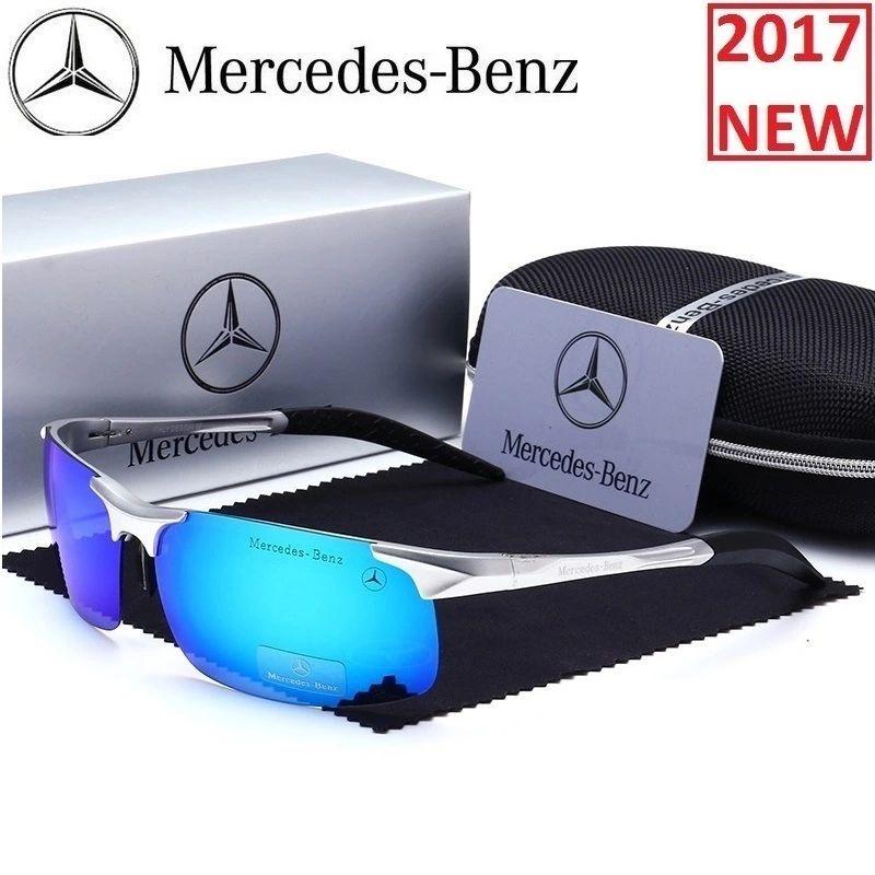 Mercedes Sunglasses Luxury Brand Glasses 2018 Men Polarized