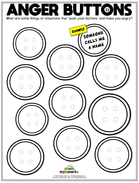Anger Worksheets | Anger | Anger management activities ...
