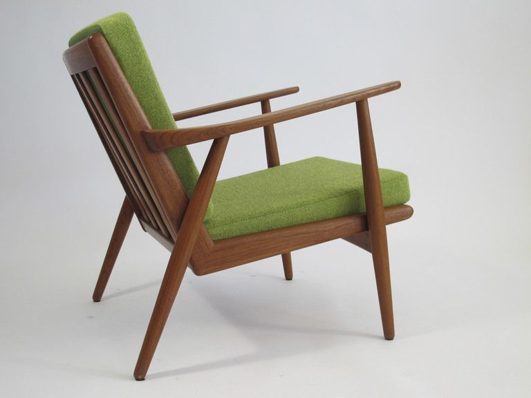 Mid Century Danish Teak Lounge Chair