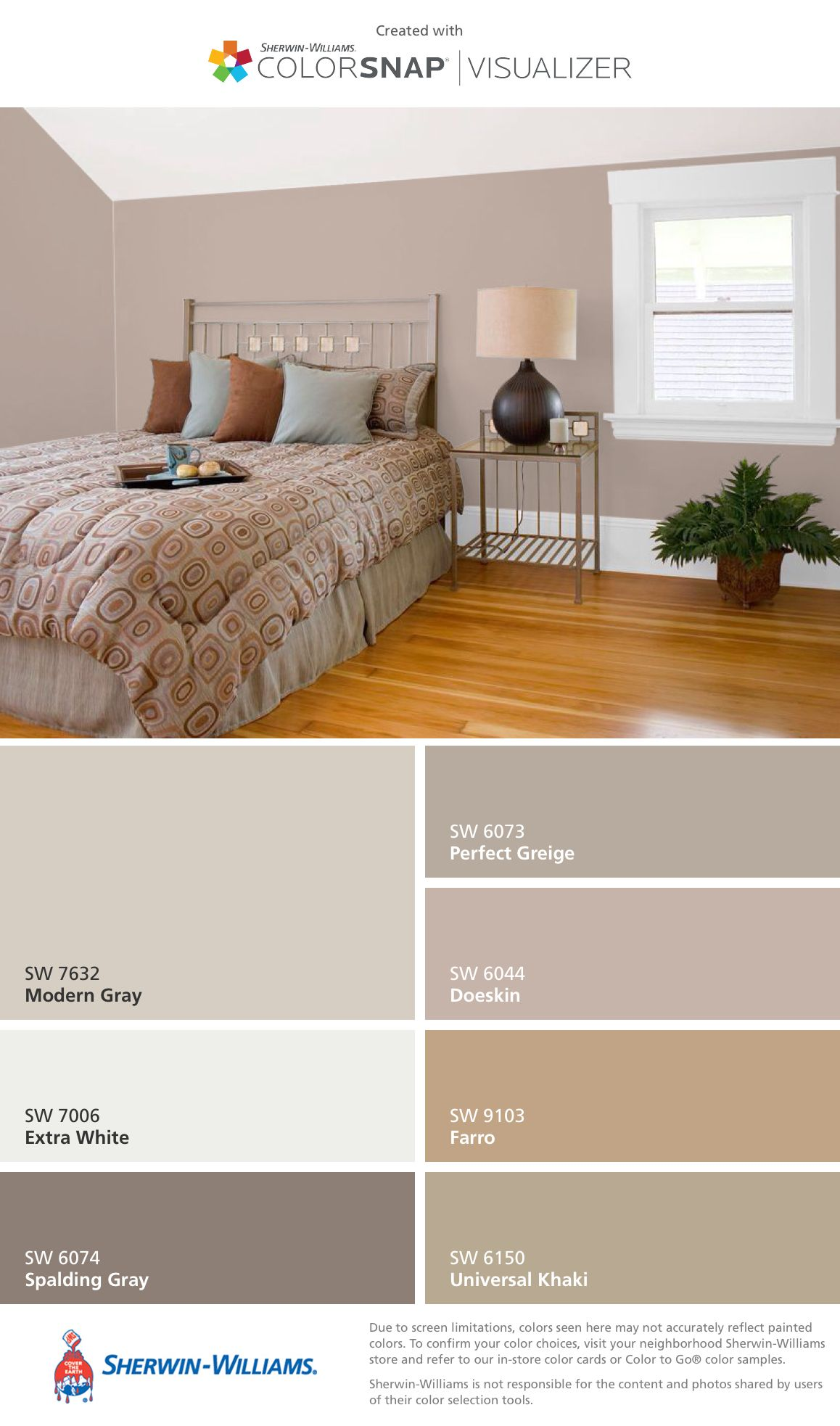 Pin by Céline Ermanel on For the Home  Bedroom color schemes
