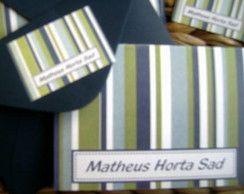 Cartão Listra Vert. Matheus