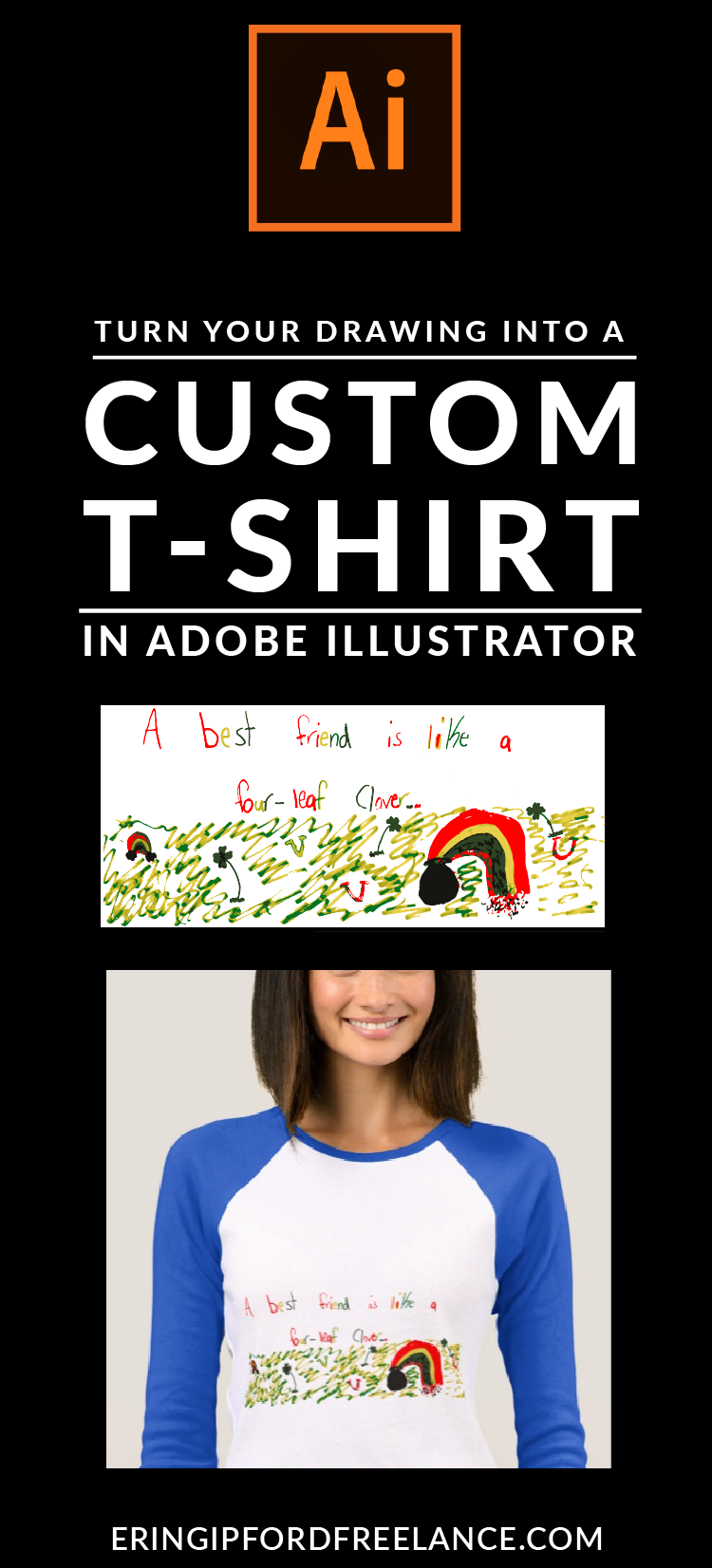 Adobe Illustrator Tutorial How To Print Your Drawing On A Tshirt