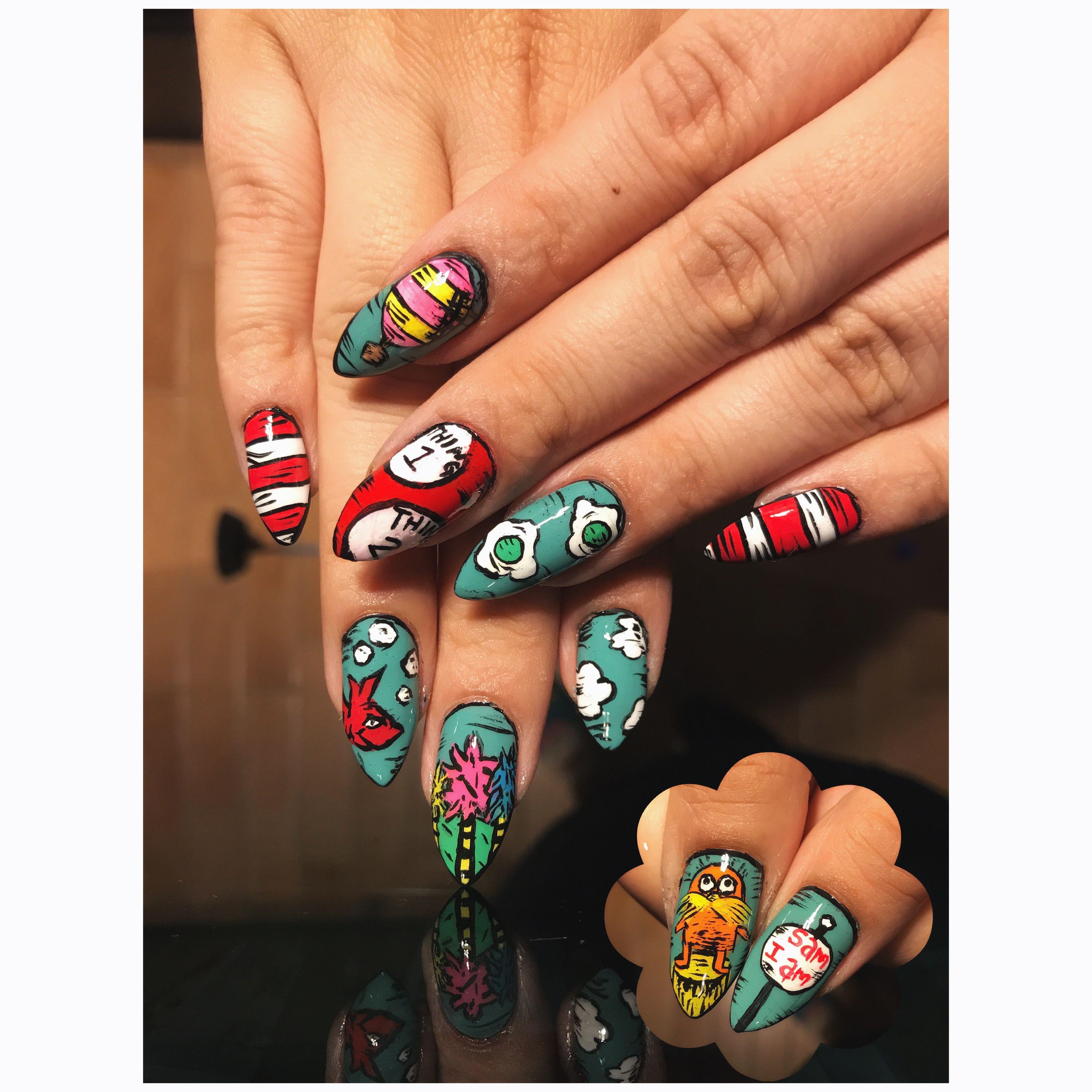 Druss Nail Art Nail Art Done By Me Pinterest