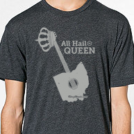 All Hail the Queen Tee @CincyMusic.com Store