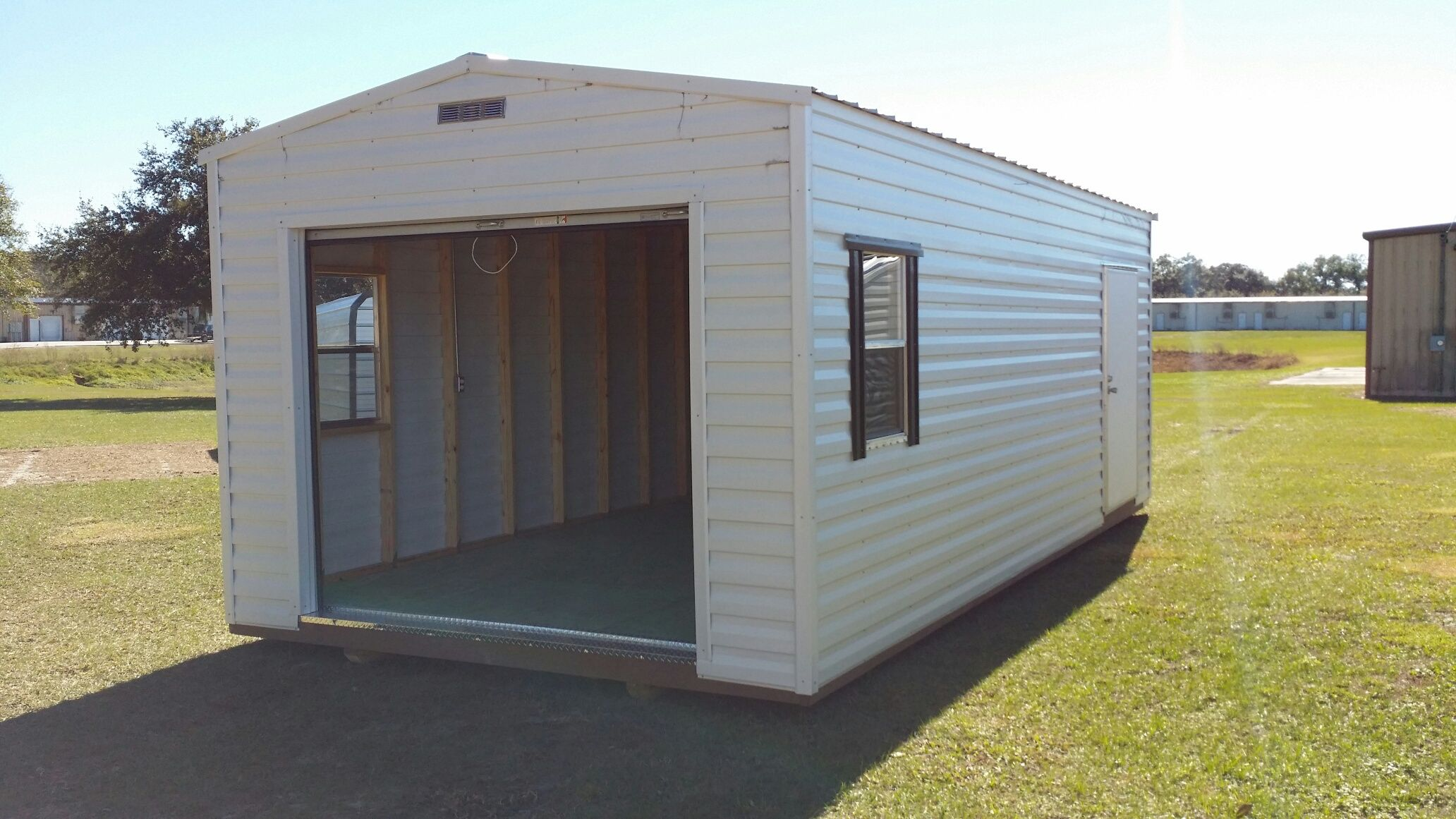 Beautiful Custom Built Sheds and Steel Buildings Shed