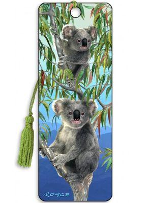 Artgame 3D Koalas Bookmark