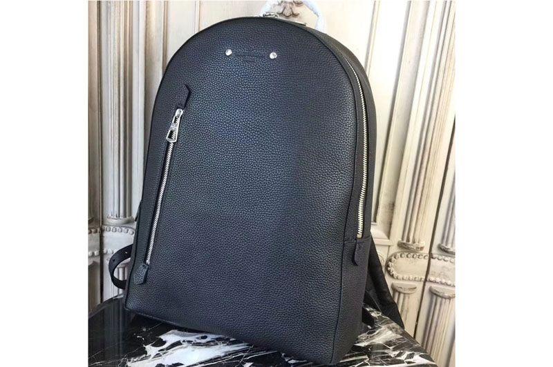 299d09abc758 Louis Vuitton Taurillon Leather Armand Backpack Black M42687