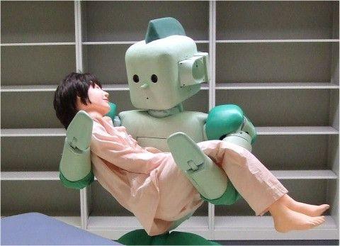 Robots kunnen mensen al veilig uit bed tillen Van Akker Vindt 2013