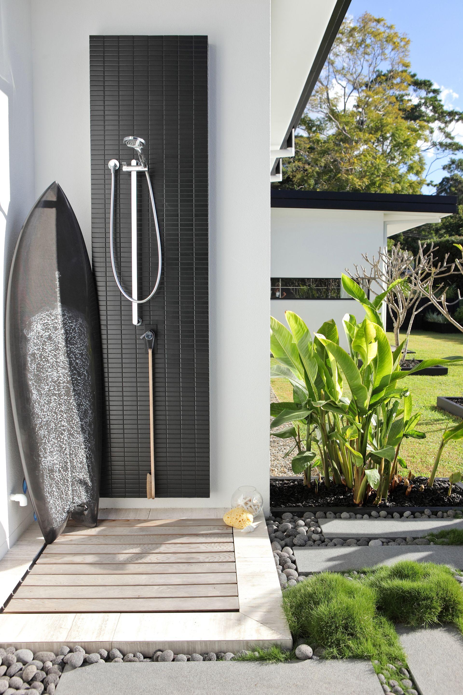 The Doonan Glasshouse Outdoor Bathrooms Outdoor Pool Shower Outdoor Shower