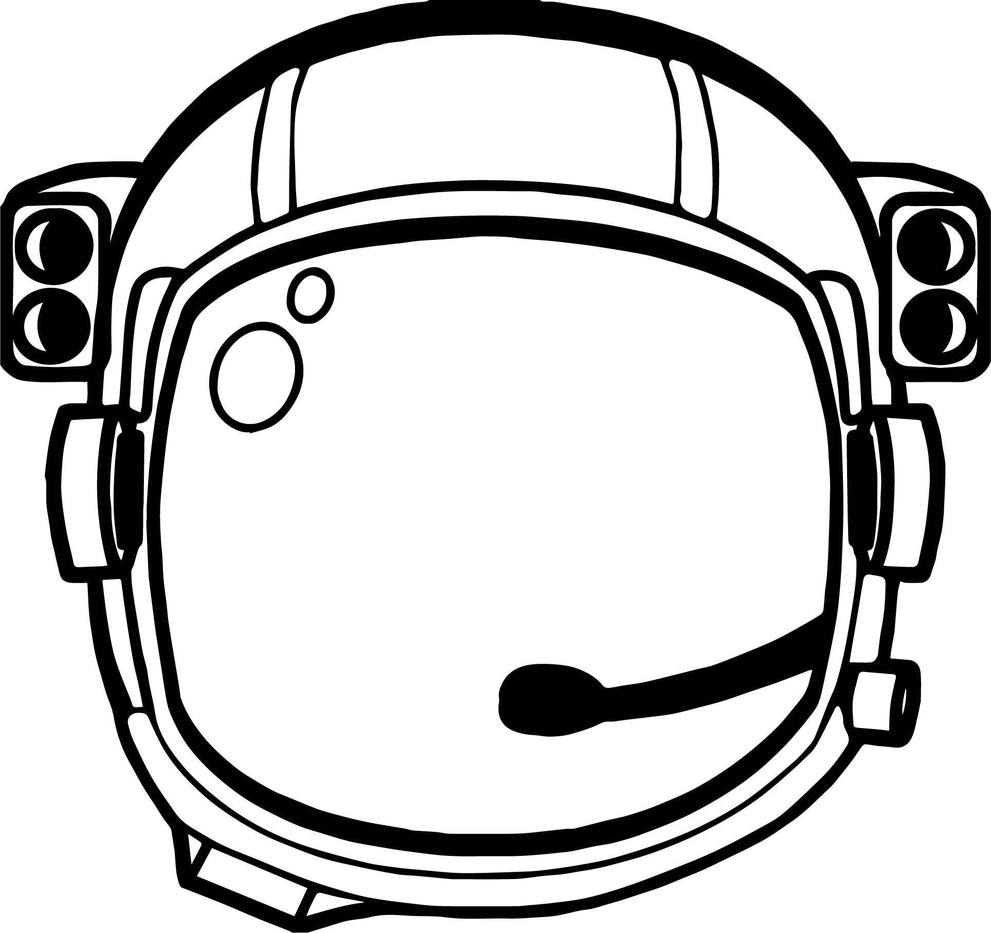 Nice Astronaut Helmet Coloring Page Astronaut Helmet Astronaut
