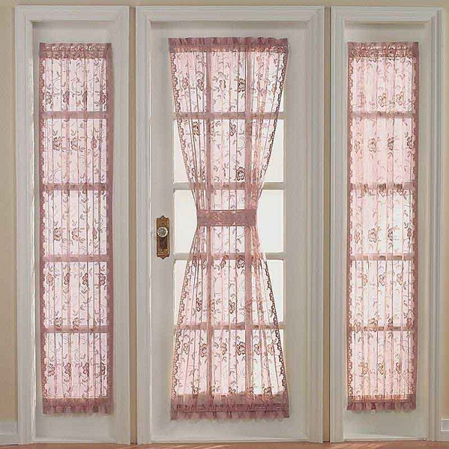 Bon Side Door Window Curtains | Door Designs Plans