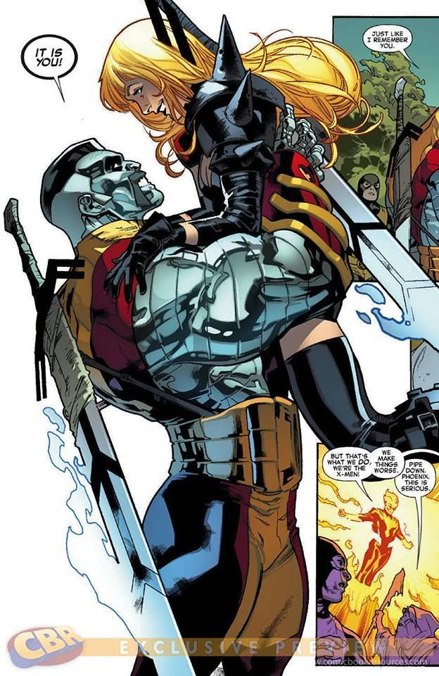 more photos b130f a0a03 Alternate reality Colossus with a sweet handlebar mustache...and Magik by  Stuart Immonen