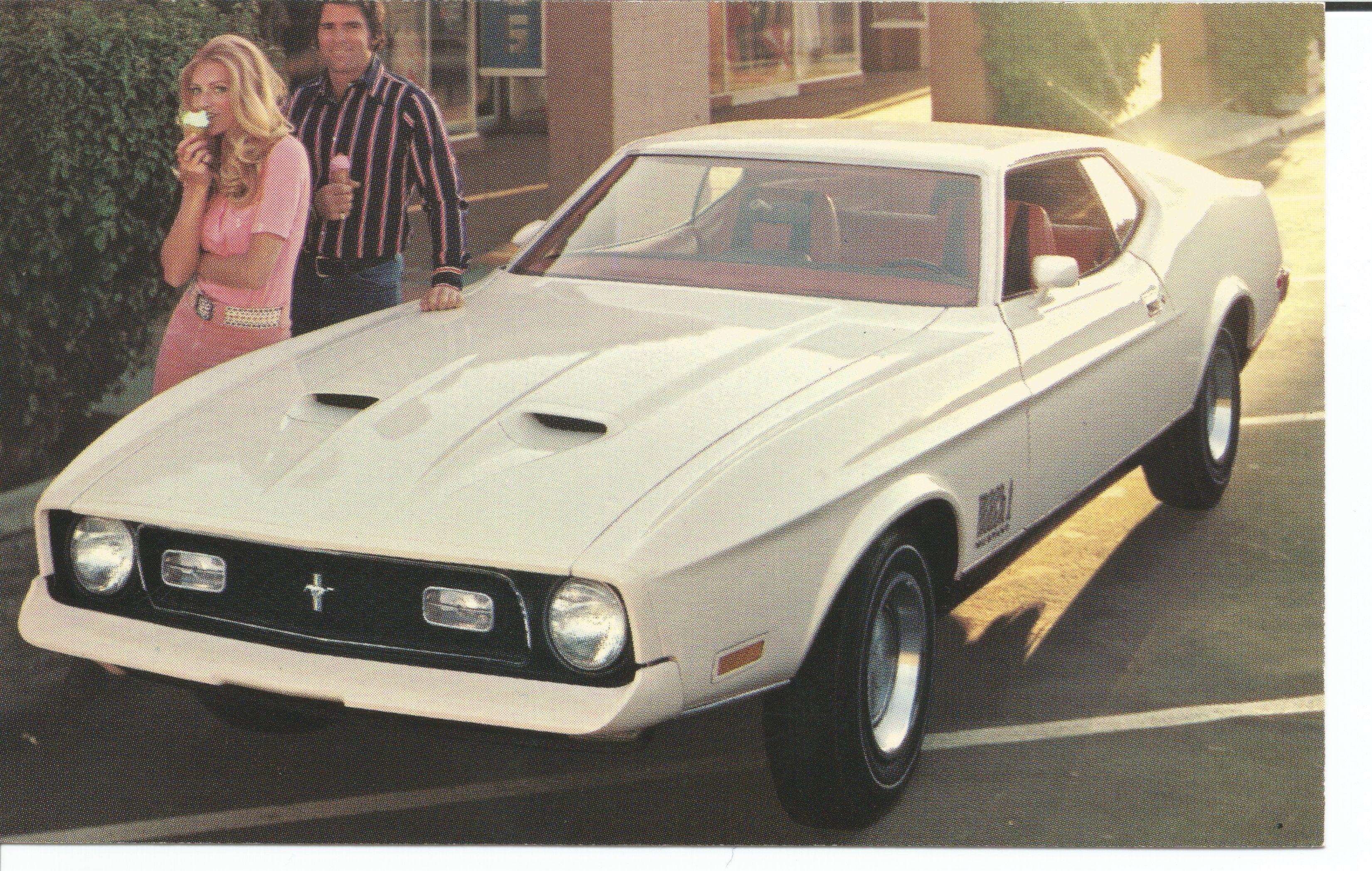 1972 ford mustang mach 1 2 door sportsroof