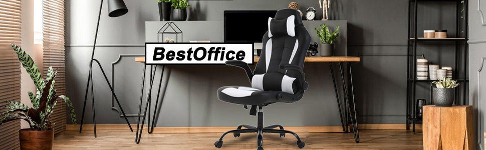 Bestoffice pc gaming chair ergonomic office chair desk