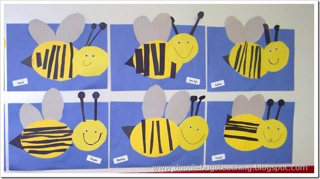 Free!  More ideas for bees! All a-buzz about our good speech, bee themes!