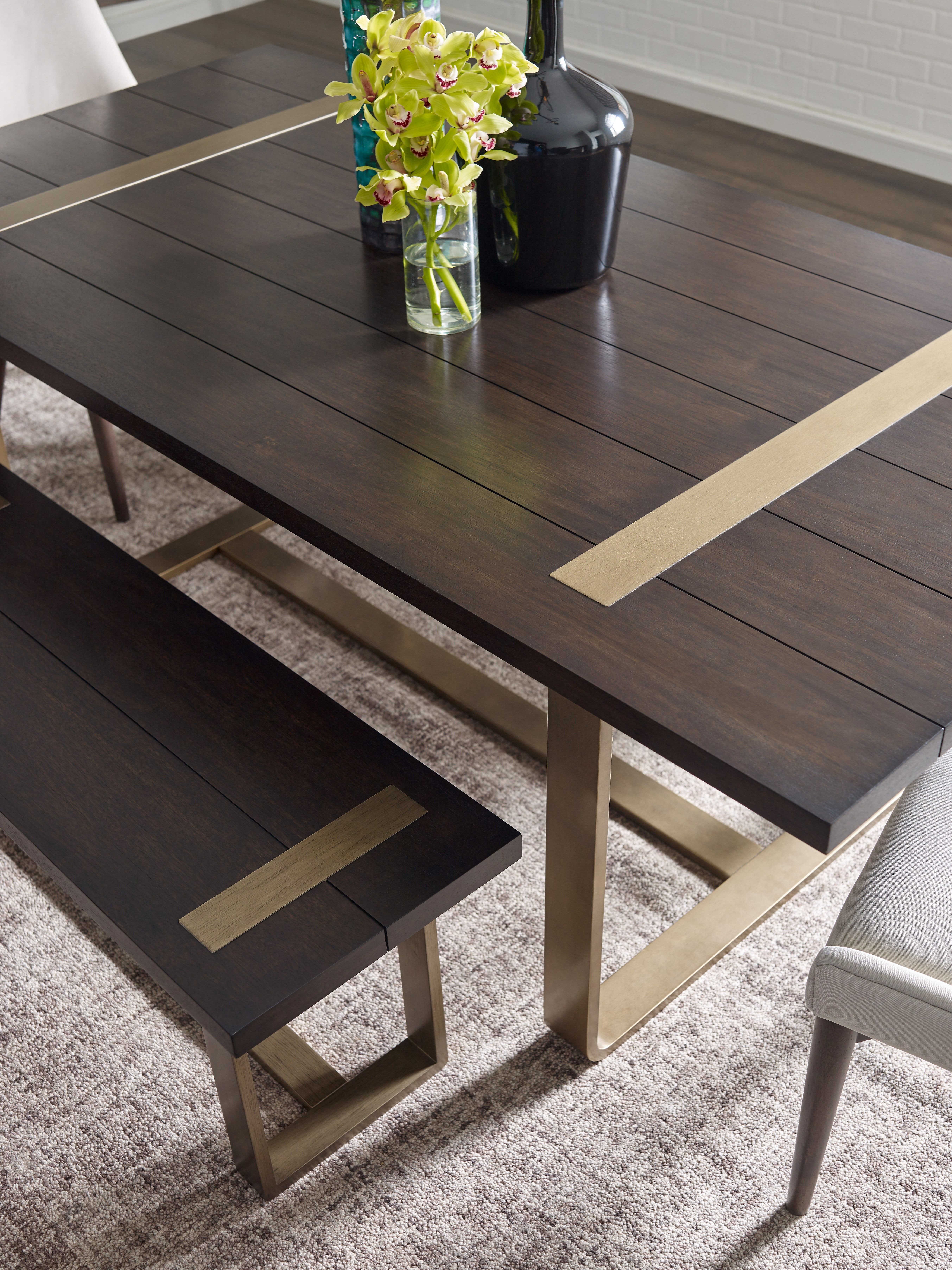 Racheal Ray Home Austin Dining Table With Gold Accents Furniture Homefurniture Homedecor Con Dining Table In Kitchen Dining Table Solid Wood Dining Table