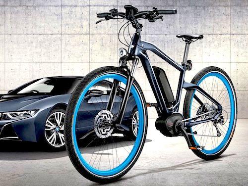 bmw e bike in limitierter sonderedition bikes und co. Black Bedroom Furniture Sets. Home Design Ideas