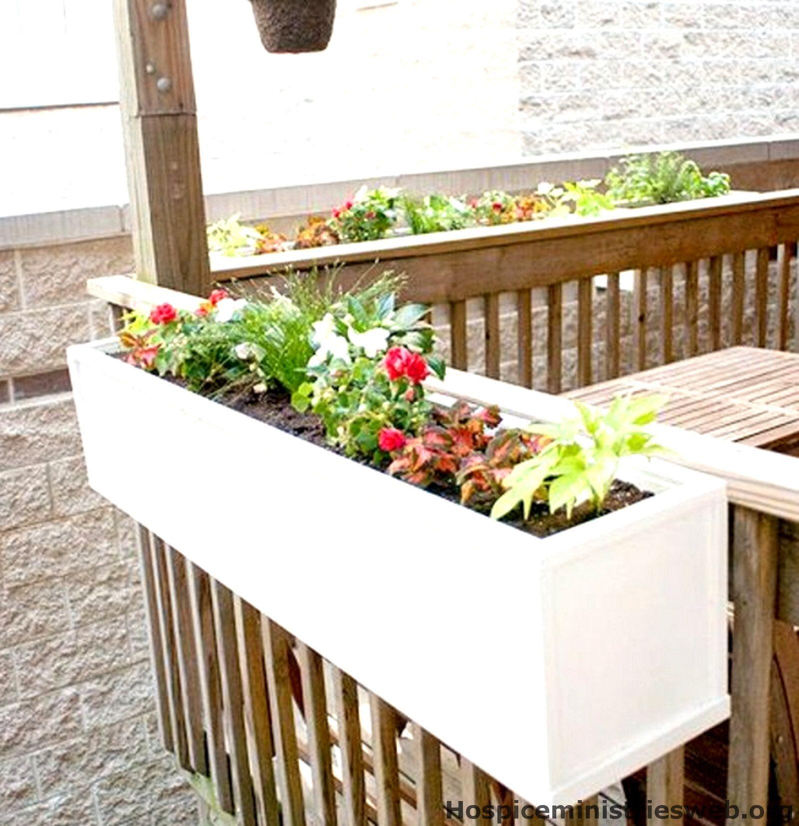 Pflanzk 252 Bel Polyrattan Diy Flower Boxes Deck Planters