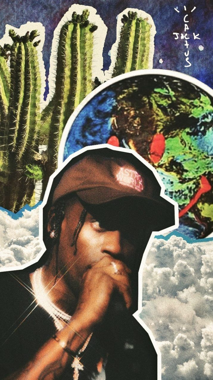 Cactus Jack Wallpaper in 2020 Travis scott iphone