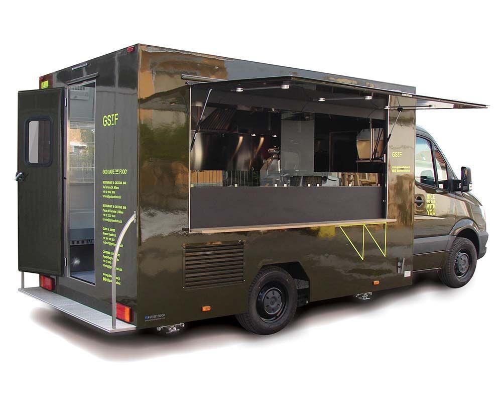 4f25c5b25b Food Truck Mercedes con Cucina attrezzata per vendita Sandwich ...