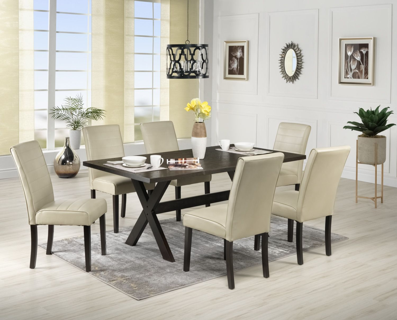 Casual Dining Room Furniture Marlo Table Walnut
