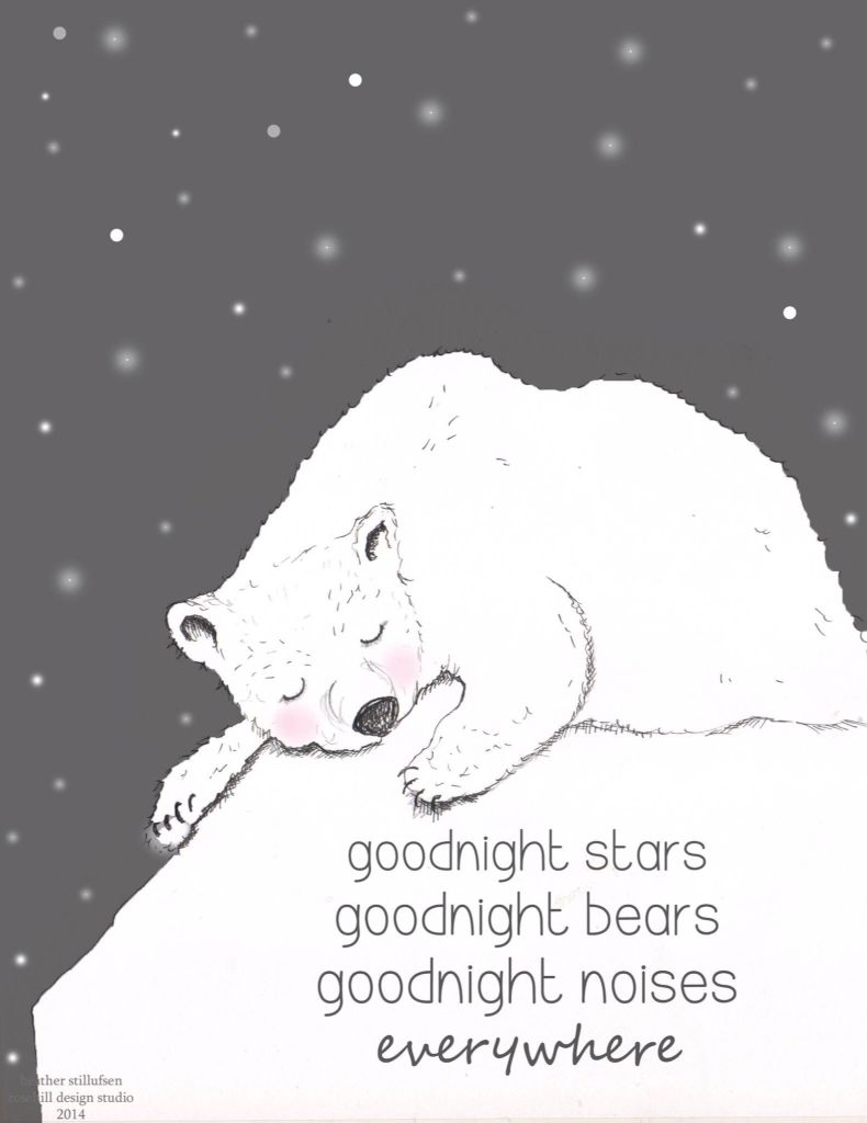 ✨ Goodnight everywhere ✨ | Heather Stillufsen