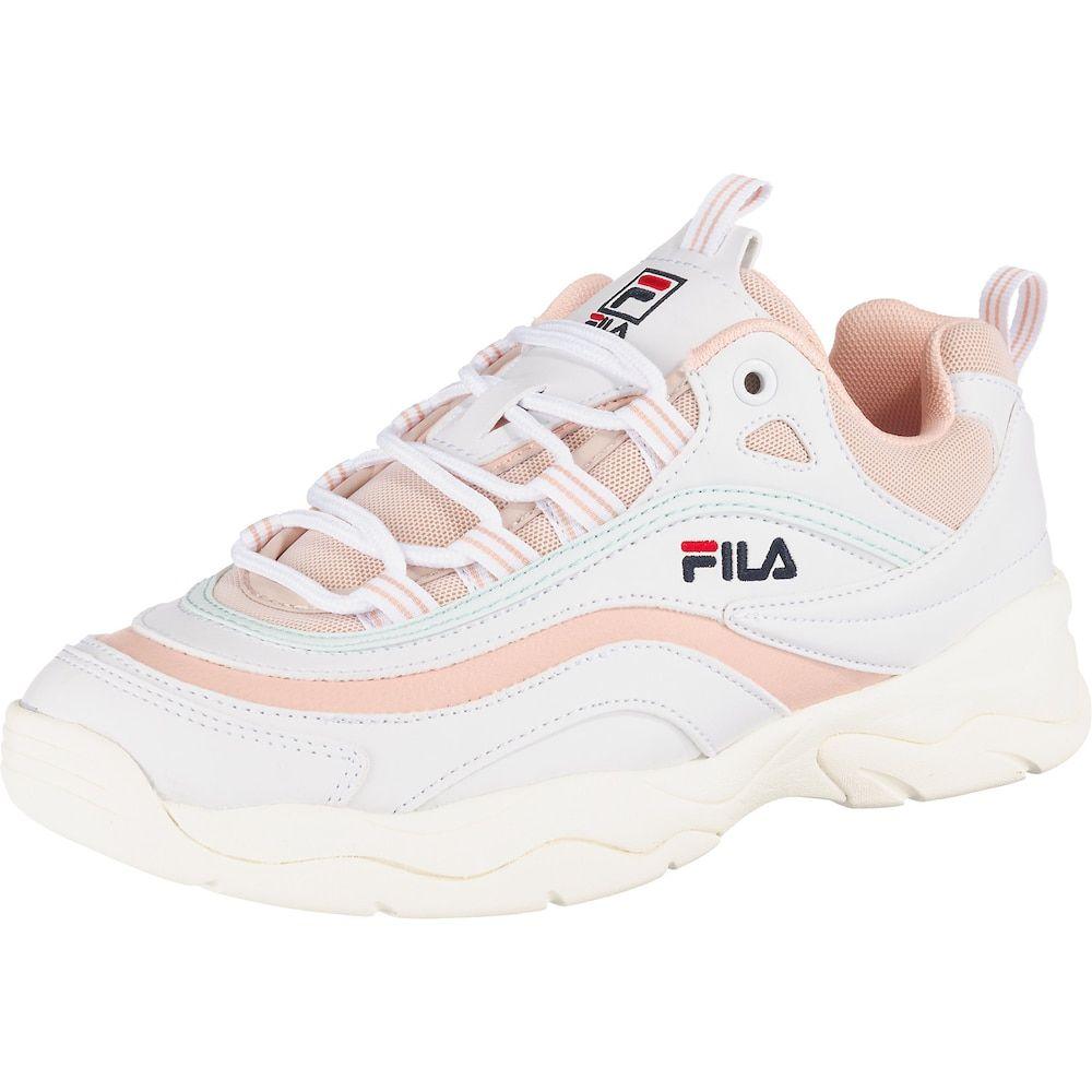 FILA Sneaker 'Ray' Damen, Mint Koralle Weiß, Größe 40