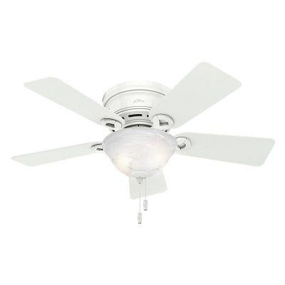 Hunter Conroy 42 In Conroy Low Profile Ceiling Fan With Light Ceiling Fan Ceiling Fan With Light