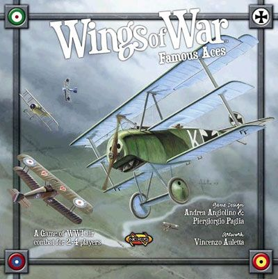 Wings of  War - Famous Aces: The miniatures come alive!