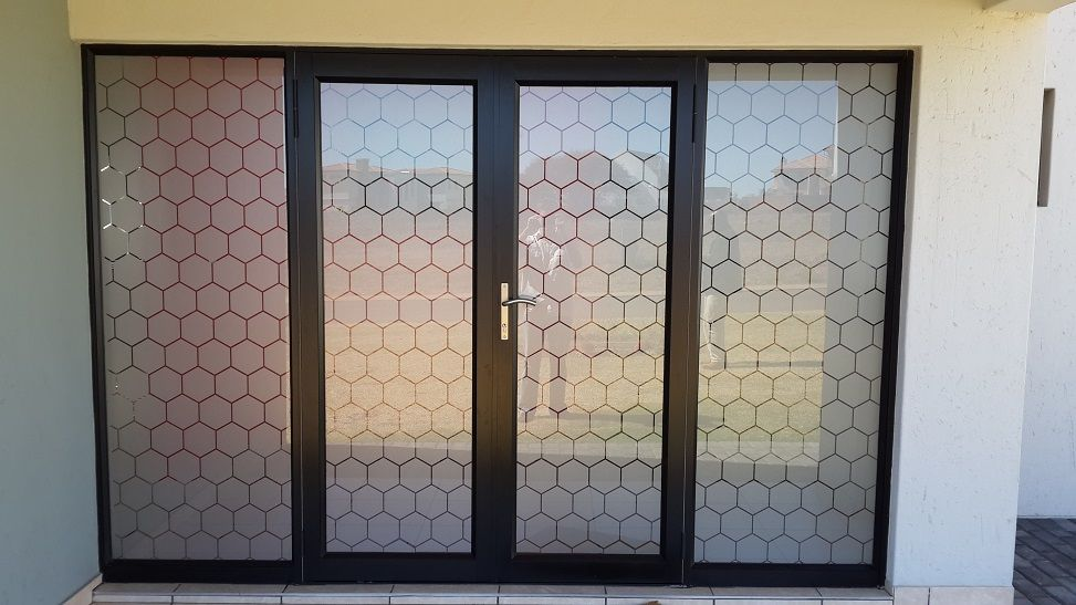 Attractive Window Tinting Applied To Glass Doors | Make   EVA 02 | Pinterest | Glass  Doors, Window And Frosted Window