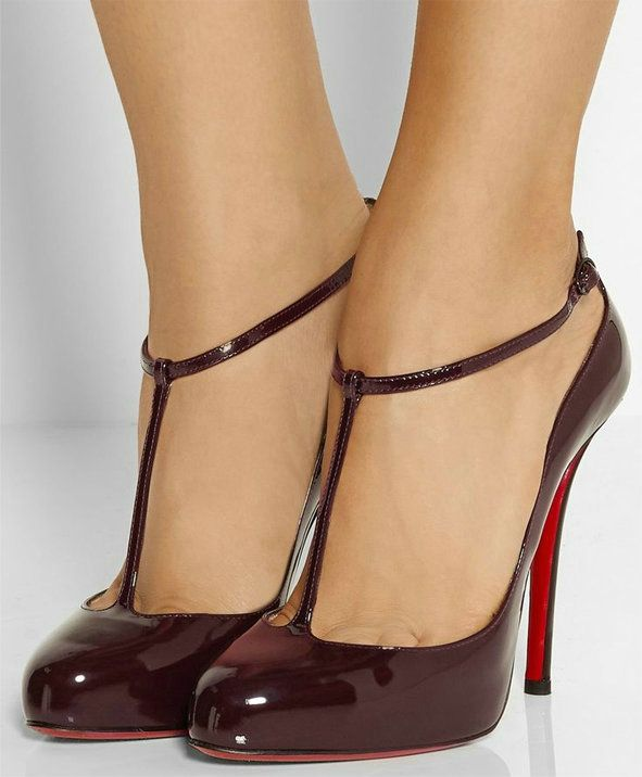 Sky-High Christian Louboutin Corsankle Pointy-Toe Pumps