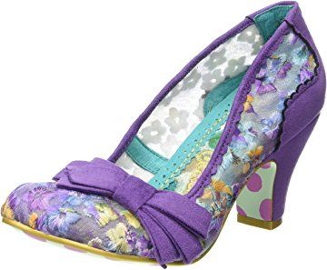 Womens Palm Cove Closed-Toe Heels Irregular Choice