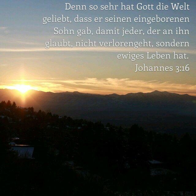 Johannes 3 16