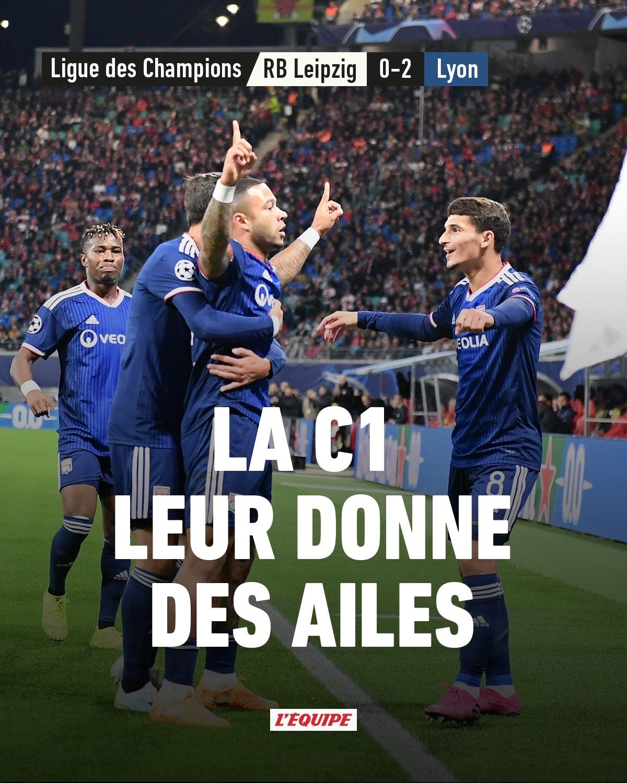 leipzig vs lyon championsleague 20192020 Ligue des