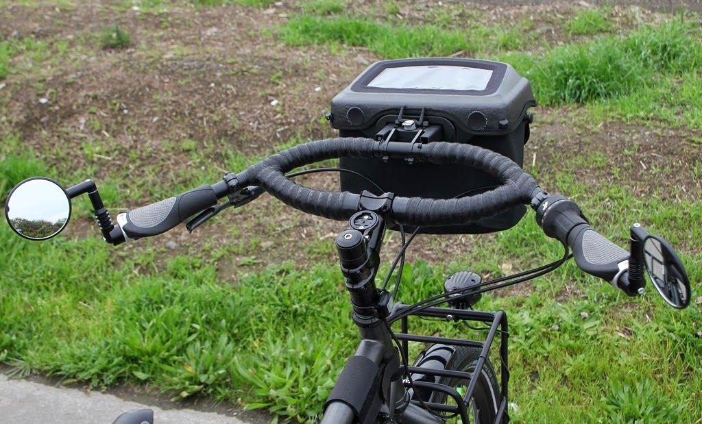 Ortlieb Handlebar Bag And Jeff Jones Loop H Bar Bike Handlebar