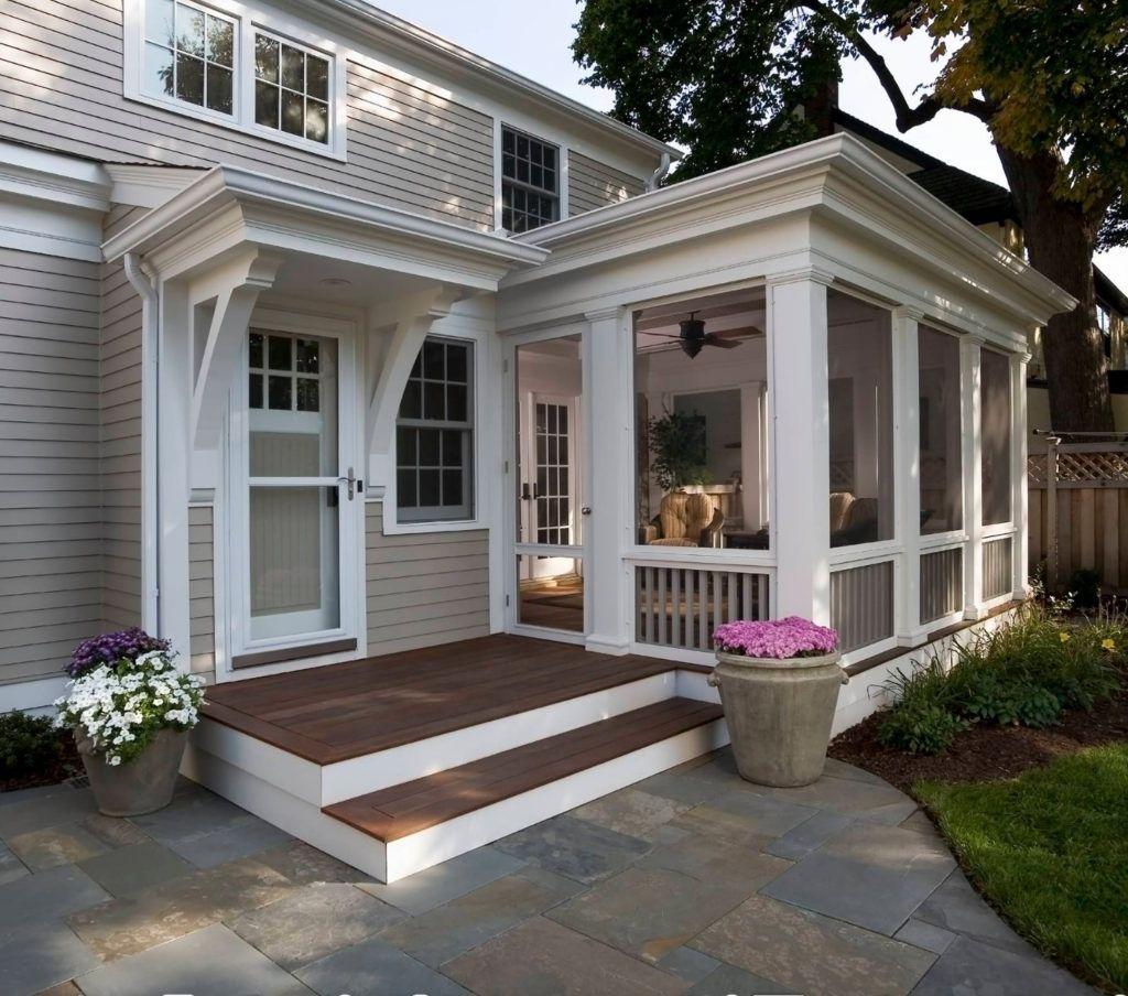 Creative Screened Porch Design ideas #sideporch