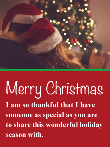 Couple in santa hats romantic merry christmas card this fun and couple in santa hats romantic merry christmas card this fun and romantic christmas card will bring a smile to the face of the one you are thinking of m4hsunfo