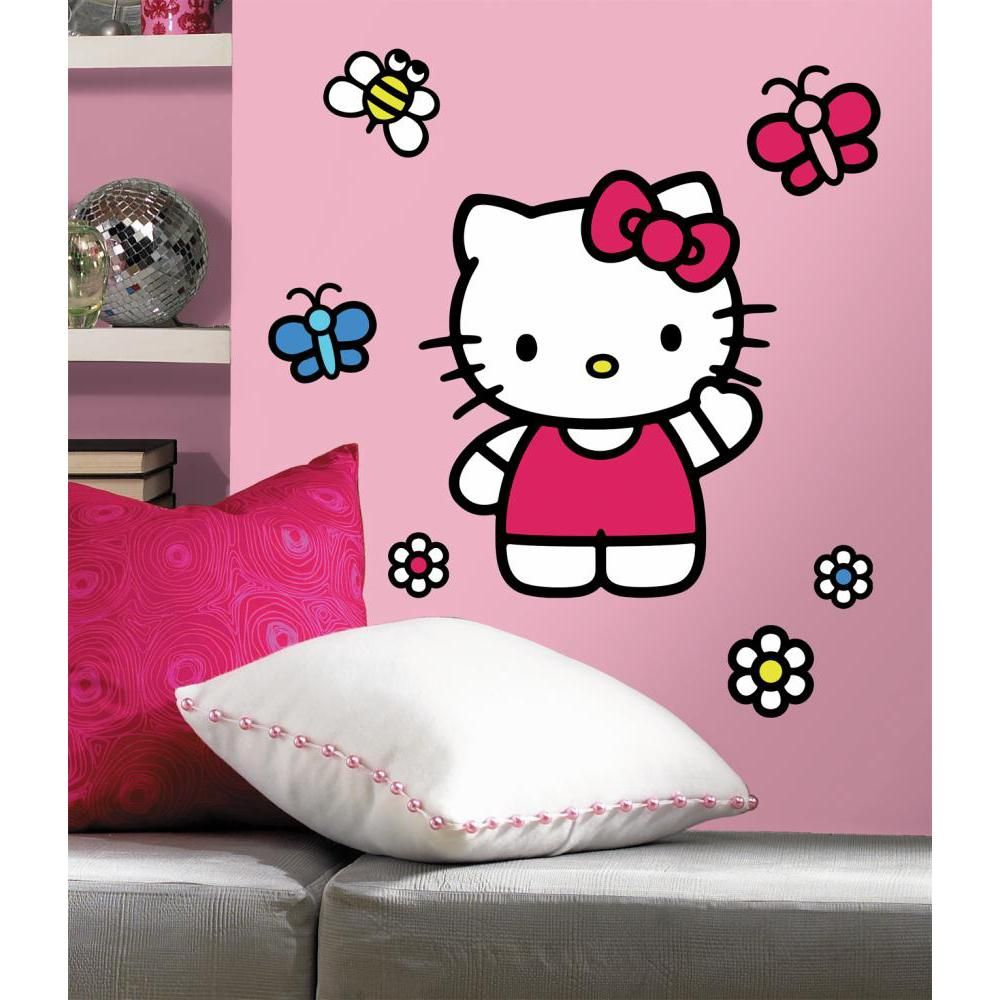 f6c89d5af Hello Kitty-The World of Hello Kitty Giant Decal | Set | White ...