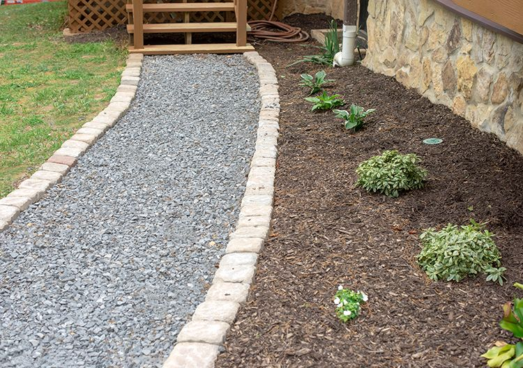 How To Lay A Budget Friendly Gravel Path | Craving Some ...