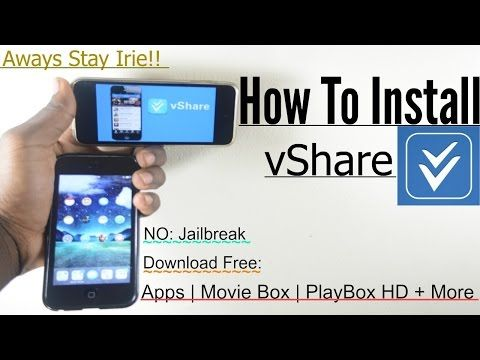 iOS 9/8 4 1: How To Install (vShare) v3 2 1-Best AppStore