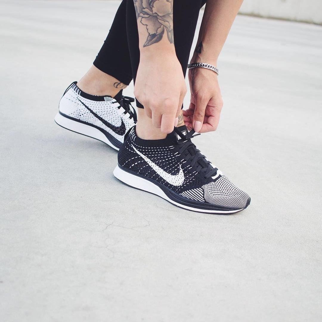 tout neuf a4744 aef34 Sneakers Femme - Nike Flyknit Racer (©ninpoi)   women nike ...
